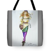 Fashion On The Run Tote Bag