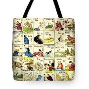 Fashionable Melange Of English Words 1887 Tote Bag