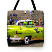 Fast And Furious In Cuba Tote Bag