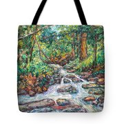 Fast Water Wildwood Park Tote Bag by Kendall Kessler