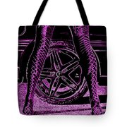 Faster In Fishnets Tote Bag
