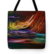 Faster Than The Speed Of Light Tote Bag