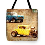 Fastest Car In The Valley Tote Bag