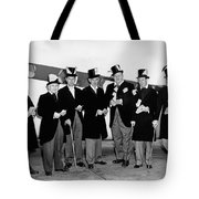 Fat Cats In Tuxedos Tote Bag