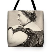 Fat Lady, 19th Century Tote Bag