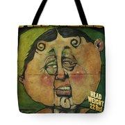 Fathead Poster Tote Bag