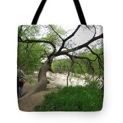Father And Son Hike Tote Bag