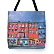Father And Son - Manhattan Bike Ride Tote Bag