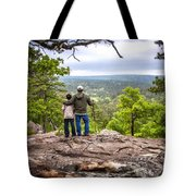 Father And Son Tote Bag by Tamyra Ayles