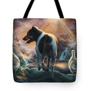 Father Goose Tote Bag