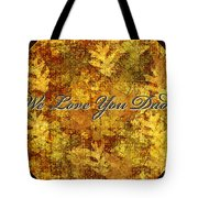 Father's Day Greeting Card Iv Tote Bag