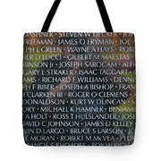 Fathers Sons And Brothers Of The Wall Tote Bag