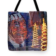 Fats' Watercolor Frenzy Tote Bag