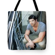 Faubourg Alley Man Tote Bag