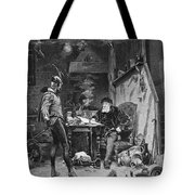 Faust And Mephistopheles Tote Bag