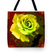 Fauvism Roses Triptych Tote Bag