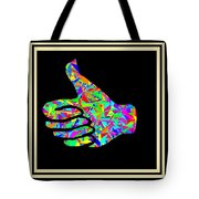 Fauvism Thumbs Up Tote Bag