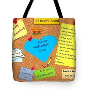 Envisioning Collage Tote Bag