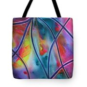 Faux Stained Glass II Tote Bag