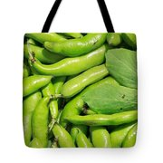 Fava Bean Pods Tote Bag
