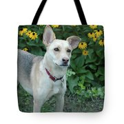 Fawn And The Flowers Tote Bag