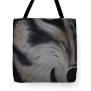 Fawn In A Red Wolf's Eye Tote Bag