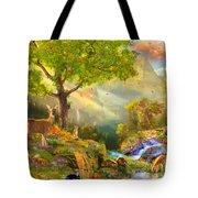 Fawn Mountain Tote Bag