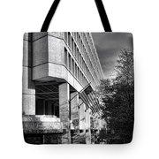 Fbi Building Modern Fortress Tote Bag