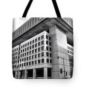 Fbi Building Rear View Tote Bag