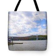 Fdr Mid Hudson Bridge - Poughkeepsie Ny Tote Bag