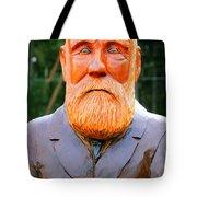 Fear The Beard Golfer Tote Bag