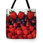 Feast Of Fruit Tote Bag by Frozen in Time Fine Art Photography