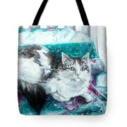 Feather Belle Tote Bag