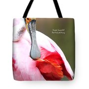 Feather Care Tote Bag