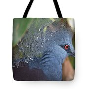 Feather Crown Tote Bag