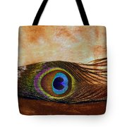 Feather Design Tote Bag