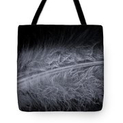 Feather Droplets Tote Bag