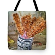 Feather Duster Bouquet Tote Bag