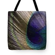 Feather Fan Tote Bag