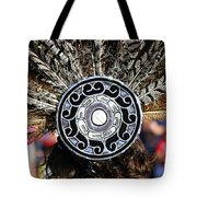 Feather Headdress Tote Bag