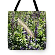 Feather In The Crowd Tote Bag