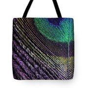 Feather Of A Different Color Tote Bag