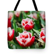 Feather Red Tote Bag