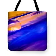 Feather Sunset Tote Bag