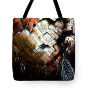 Feathered Abstract 2 Tote Bag
