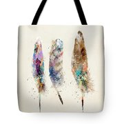 Feathers Tote Bag by Bri B