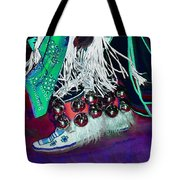 Feathers Fringe And Bells Tote Bag