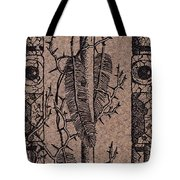 Feathers Thorns And Broken Arrow Bookmark No1 Tote Bag