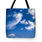 Feathertail Cloud Tote Bag