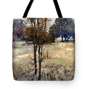 Feathery Field Tote Bag